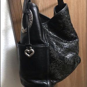 "Vintage Brighton Leather Bag 12""x11""x5"" Perfect!"